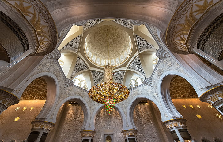 mosque chandelier abu dhabi