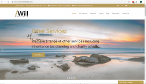 Capture – Website home