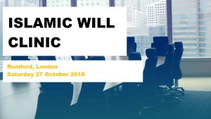 Will Clinic (27.10.18) – min