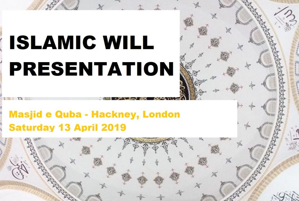 Will Presentation (13.04.19)